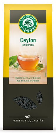 Lebensbaum Ceylon Schwarztee 75g