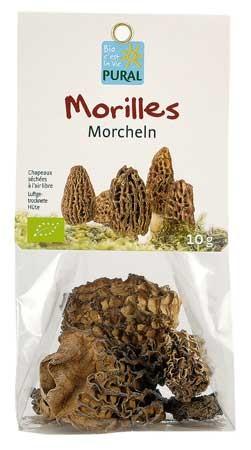 Pural Morcheln getrocknet 10g