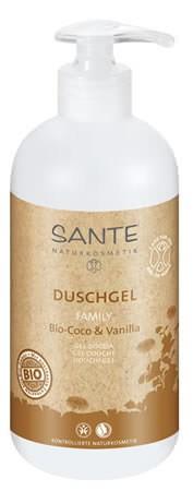 SANTE Family Duschgel Bio-Coco & Vanilla 500ml