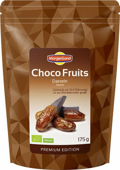 MorgenLand Choco Fruits Datteln 175g