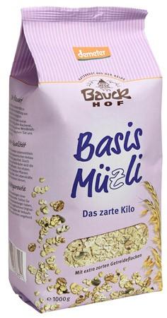 Bauckhof Das zarte Kilo, Basis-Müsli demeter 1kg