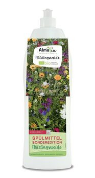 AlmaWin Spülmittel Sonderedition Nützlingsweide + Samen 1l