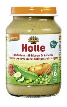 Holle Kartoffeln mit Erbsen und Zucchini demeter 190g