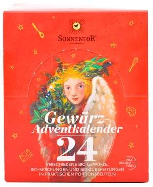 Sonnentor Gewürz-Adventskalender 24 Beutel 116g