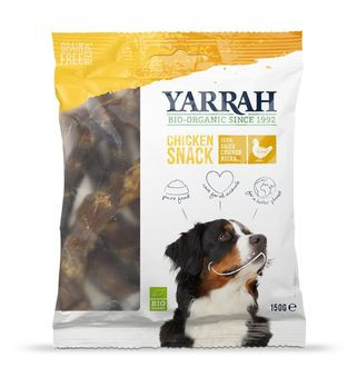 Yarrah Chicken Snack, getrocknete Hühnerhälse 150g