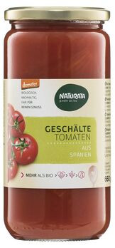 Naturata geschälte Tomaten in Tomatensaft, demeter 660g