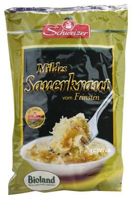 Marschland Sauerkraut im Alubeutel 520g