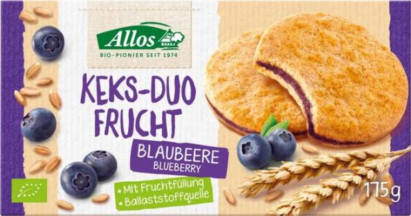 Allos AL Keks-Duo Frucht Blaubeere 175g