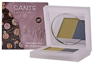 SANTE Eyeshadow Duos 01 lime green/A