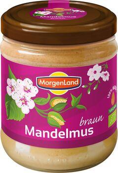 MorgenLand Mandelmus braun 500g