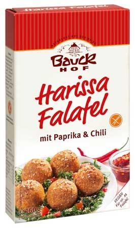Bauckhof Harissa Falafel glutenfrei 160g
