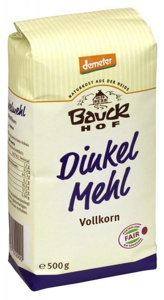 Bauckhof Dinkelmehl, Vollkorn Demeter 500g