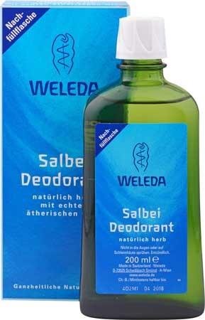 Weleda Deodorant Salbei Nachfüllflasche 200ml
