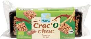 Pural Crac'O Choc Dinkel Schoko-Happen mit Vollmilchschokolade 80g