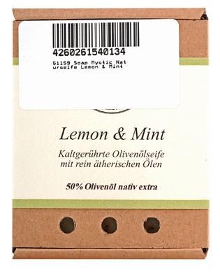 Soap Mystic Naturseife Lemon & Mint 110g