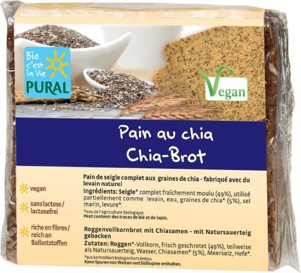 Pural Chia-Brot 375g