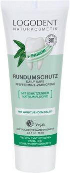 LOGONA Daily Care Zahncreme Logodent mit Fluorid EXTRAFRISCH 75ml