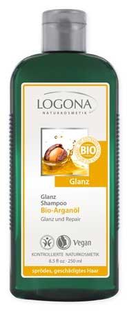 LOGONA Glanz Shampoo Bio-Arganöl 250ml
