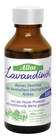 Allos Lavandinöl, Lavendelöl Bio 20ml