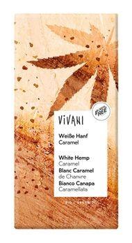 Vivani Weiße Hanf Caramel Schokolade 80g