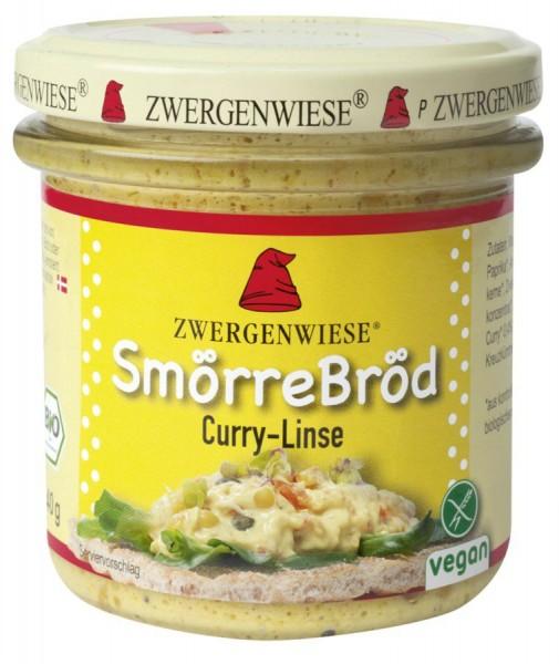 Zwergenwiese SmörreBröd Curry Linse 140g