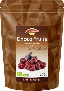 MorgenLand Choco Fruits Sauerkirschen 200g