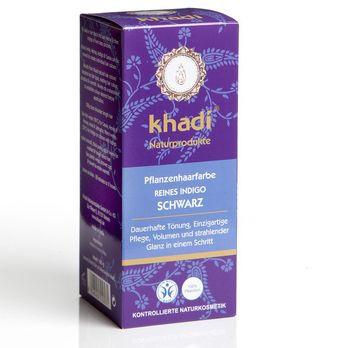 Khadi Pflanzenhaarfarbe Reines Indigo 100g