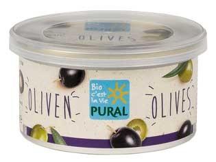 Pural Brotaufstrich Schwarze Olive 125g
