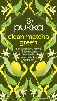 Pukka Clean Matcha Green 20Btl