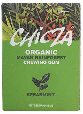 Chicza Kaugummi Spearmint (Pfefferminz) 30g