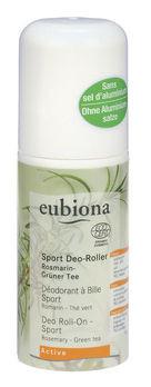 Eubiona Deo-Roller Sport Rosmarin-Grüner Tee 50ml