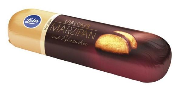 Lubs Marzipanbrot mit Rohrohrzucker und Zartbitterschokolade 50g/S