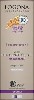 LOGONA Age Protection Mildes Reinigungs-Öl-Gel 100ml