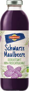 MorgenLand Schwarzer Maulbeerdirektsaft 0,7l