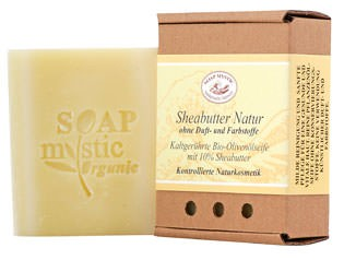 Soap Mystic Bio-Naturseife Sheabutter Natur 110g