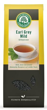 Lebensbaum Earl Grey Mild Schwarztee 100g