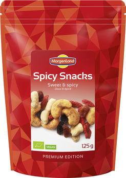 MorgenLand Spicy Snacks Sweet & Spicy 125g/A