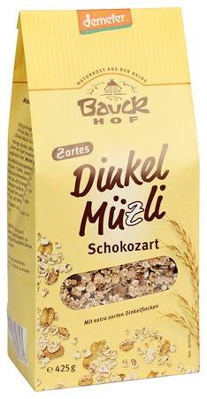 Bauckhof Dinkelmüzli Schokozart demeter 425g
