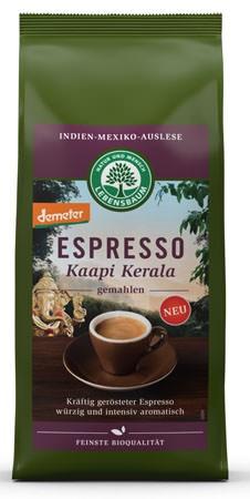 Lebensbaum Espresso Kaapi Kerala gemahlen demeter 250g