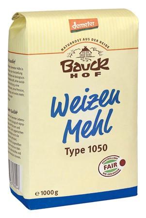Bauckhof Weizenmehl Type 1050 Demeter 1kg