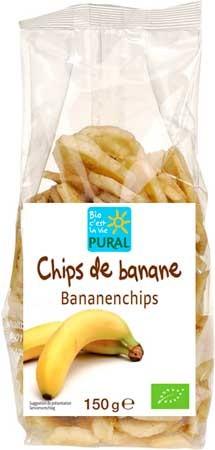 Pural Bananenchips 150g