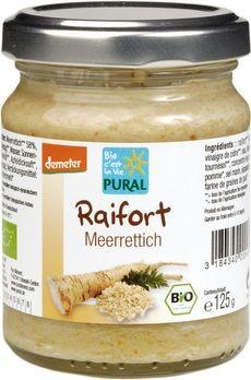 Pural Raifort demeter-Meerrettich 125g