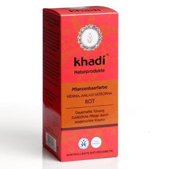 Khadi Pflanzenhaarfarbe Henna, Amla und Jatropha 100g