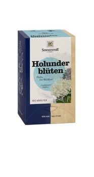 Sonnentor Holunderblüten Tee Doppelkammerbeutel 27g