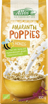 Allos Amaranth Honig-Poppies 300g